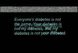 Still frame from: DiabeticRadio - Episode 27 - Skinny People With Type 2?