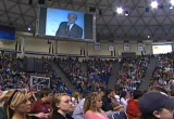 Still frame from: Dr. Ron Paul speaks at Liberty University Feb. 08 2008