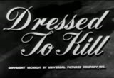 Still frame from: Dressed To Kill