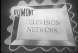 Still frame from: Compilation of DuMont Television Network IDs (Classic TV)