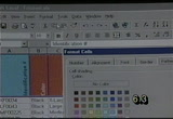 Still frame from: Learning Excel 97: Intermediate