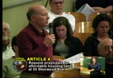 Still frame from: Falmouth Town Meeting Spring 2010 Night 2 Part 1