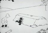 Still frame from: Collectie Filmcollectief - Felix the Cat - All balled up
