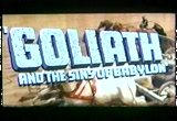 Still frame from: Goliath and the Sins of Babylon - trailer
