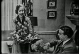 Still frame from: Early TV Comedy: ''Burns and Allen' (Episode Title: Gracie's Checking Account)