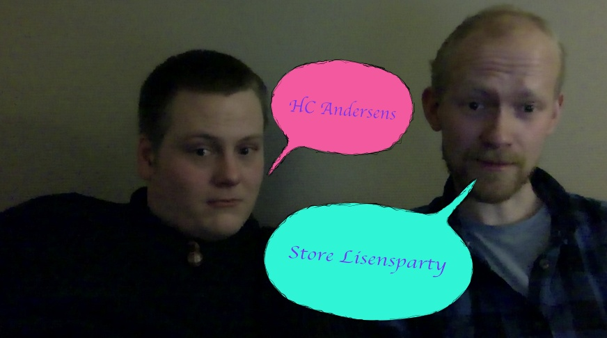 H.C ANDERSENS STORE LISENSPARTY