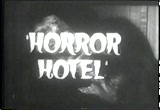 Still frame from: Horror Hotel - trailer