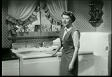 Still frame from: Hotpoint Automatic Laundry commercial with Harriet Nelson