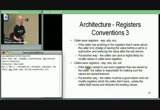 Still frame from: Introductory Intel x86: Architecture, Assembly, Applications, Day 1, Part 1