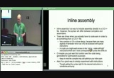 Still frame from: Introductory Intel x86: Architecture, Assembly, Applications, Day 2, Part 5