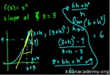 Still frame from: Calculus: Derivatives 2