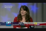 Still frame from: KEET TV Presents The League of Women Voters of Humboldt County Candidate Forums 2012 Fortuna City Council