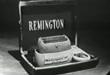 Still frame from: Fifties Advertising: Remington Rand Shaver , ''Tune In Next Week'', Stopette (Version 2, Ad 4)