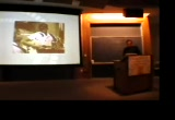 Still frame from: Lessig speaks at Swarthmore