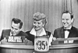 Still frame from: 'What's My Line' with Lucille Ball & Desi Arnaz (Classic TV)
