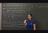 Still frame from: MIT 18.06SC Linear Algebra, Fall 2011