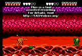 Still frame from: MESHUGGAH's NES Battletoads 'Glitched' in 00:56.94
