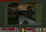 Still frame from: NoSkill DOOM demo tests