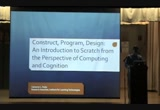 Still frame from: NYLUG Presents Cameron L. Fadjo on Construct, Program, Design: An Introduction to Scratch From the Perspective of Computing and Cognition