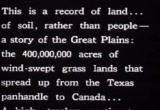 Still frame from: The Plow That Broke The Plains (Part I)