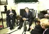 Still frame from: George W Bush 2001-10-02