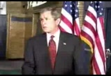 Still frame from: George W Bush 2002-04-08