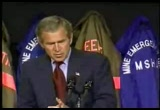 Still frame from: George W Bush 2002-08-05