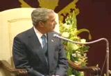 Still frame from: George W Bush 2004-06-04