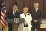 Still frame from: George W Bush 2004-07-01
