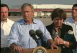 Still frame from: George W Bush 2005 09 02