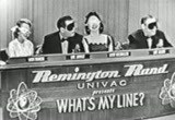 Still frame from: 'What's My Line' with Randolph Churchill, Desi Arnaz and Kim Novac