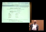 Still frame from: Recon 2005 - Fravia - Wizard searching: reversing the commercial web for fun and knowledge