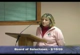 Still frame from: Regular meeting of the Dennis, Massachusetts Board of Selectmen 2-10-09