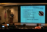 Still frame from: SciPy 2010 - Andreas Kloeckner - PuDB: console debugging fun