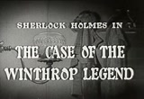 Still frame from: Sherlock Holmes - The Case of the Winthrop Legend