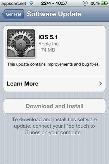 Software Update Killer