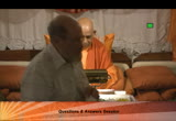 Still frame from: Srimad Bhagavad Gita-2013-5 - Friday, September 13, 2013  Q&A only