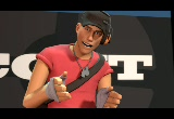Still frame from: Meet The Scout (Team Fortress 2)