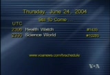 Still frame from: Worldnet TV: June 24, 2004 23:00