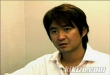 Still frame from: Tetsuya Mizuguchi and Sangyoun Lee - Ninety-Nine Nights Interview (December 2005)