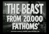 Still frame from: The Beast From 20,000 Fathoms - trailer