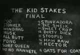 Still frame from: The Kid Stakes