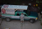Still frame from: The Ron Paul Truck Project