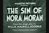 Still frame from: The Sin of Nora Moran