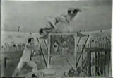 Still frame from: 'Cavalcade of Stars': The Schaller Brothers (Trampolining act)