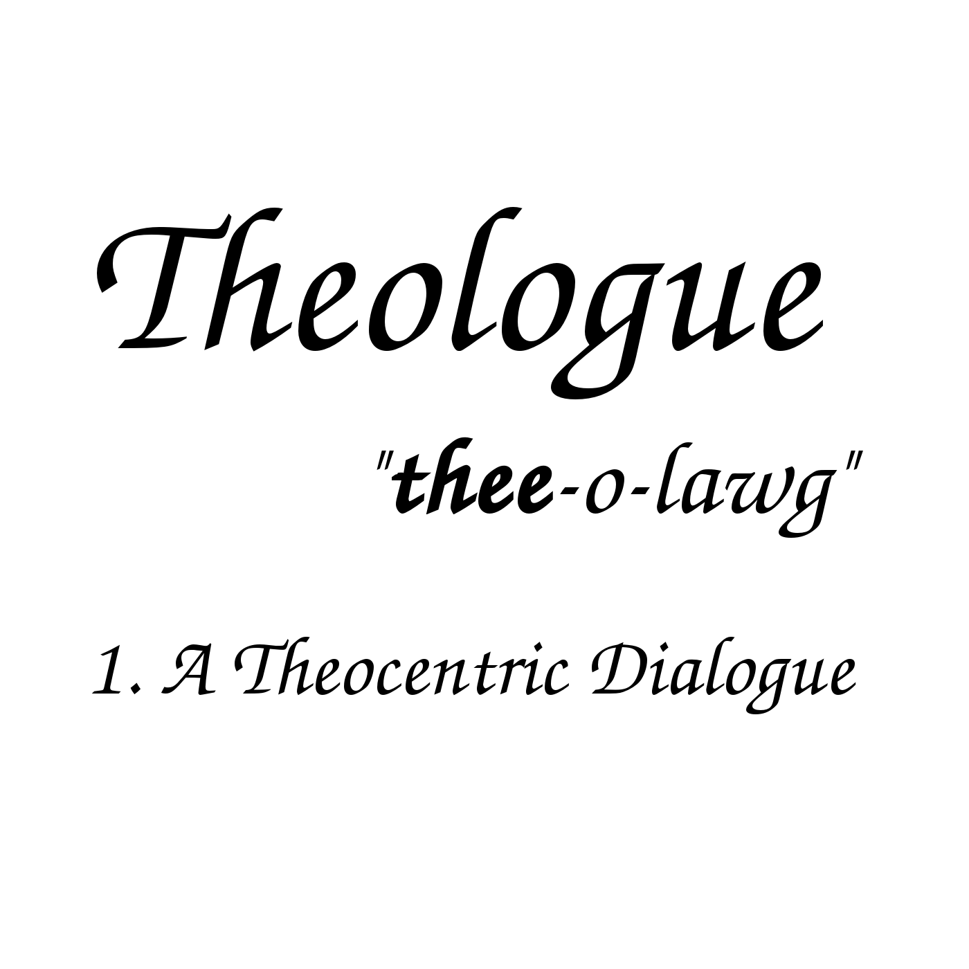 Theologcast