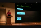 Still frame from: Thursday - 204 - 4 - The Technical and Social Challenges of Getting Python into a Multi-Billion Dollar Enterprise