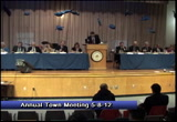 Still frame from: Town of Dennis Annual Town Meeting