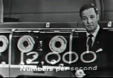 Still frame from: UNIVAC Computer Commercials in 3D