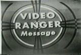 Still frame from: Video Ranger Message (50's Public Service Announcement) (1950)